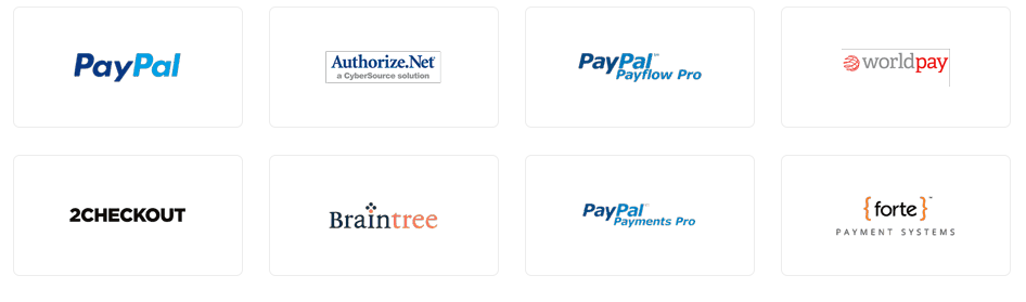 Zoho Inventory integrates to many popular payment gateways