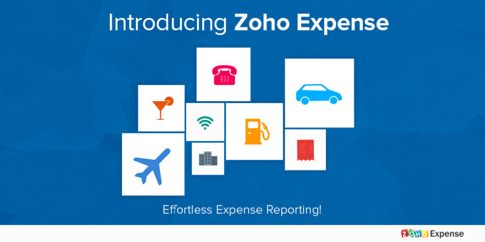 Zoho Expense tracking and expense reporting application