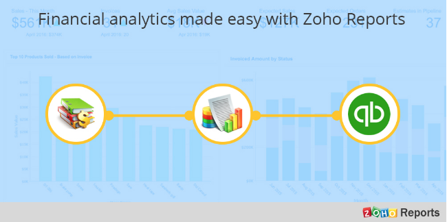 Zoho Books to Zoho Reports integration