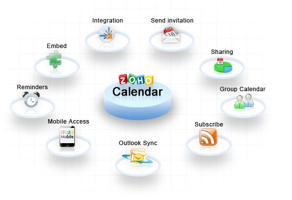 improve productivity with Zoho Group Calendar