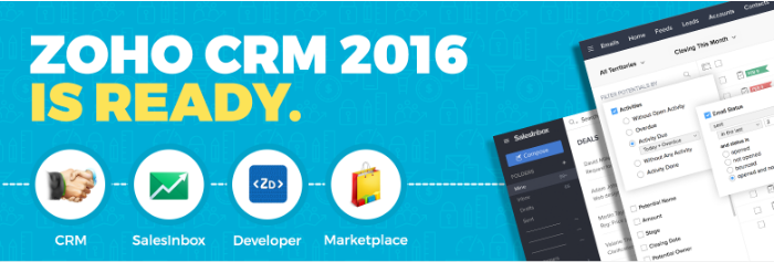 Zoho CRM interface updates 2016