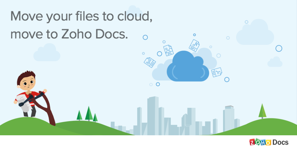Zoho Docs online document storage app for businesses