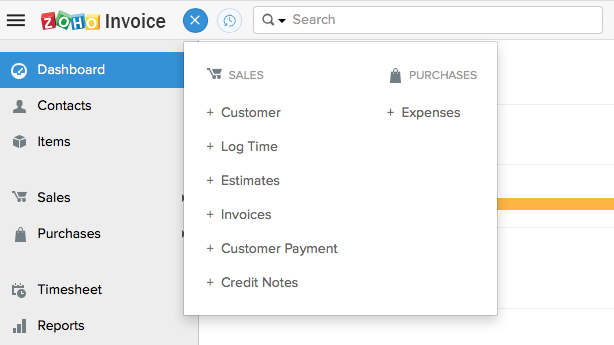 New functions in Zoho Invoice and Zoho Books accounting software